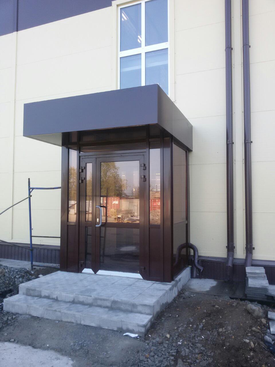 фото примеров оформления офисного входа в здание этой причине